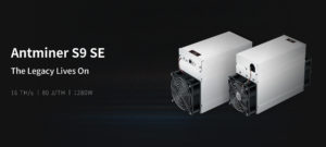 Special Edition S9 With 16 Terahash per Second Bitmain has launched yet another product for solo miners and large operations, but this particular Antminer is a low-cost mining rig. ... The new S9 SE specifications detail that the miner processes the SHA-256 algorithm (BTC and BCH) at 16 terahash per second (16TH/s).