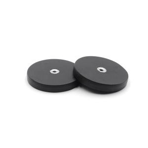 Custom Handle Rubber Coated Magnet With