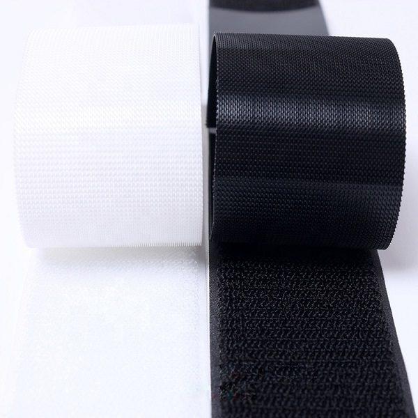Customized nylon washable baby soft hook and 1