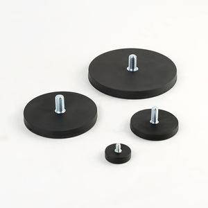 D43mm rubber coated neodymium pot magnet round 1.jpg 300x300 1
