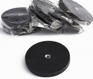 D66 Plastic Handle Rubber Coated Pot