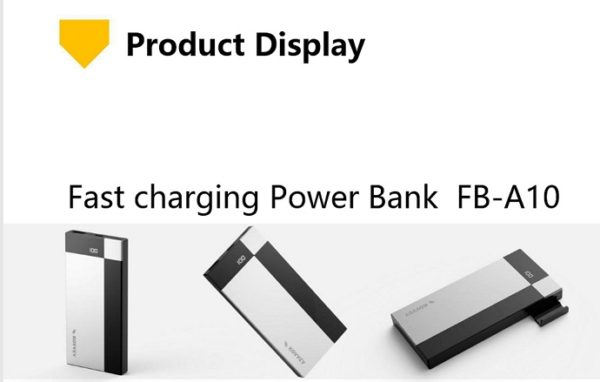 Fast charging power bank FB A10 1 2