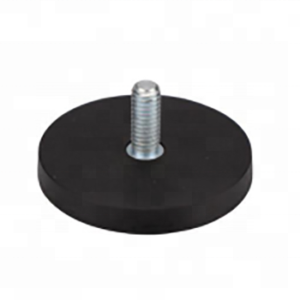 Rubber Coated Pot Magnet NdFeB with external