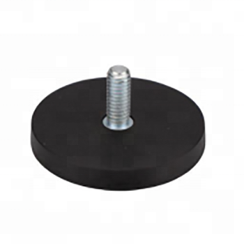 Rubber Coated Pot Magnet NdFeB with
