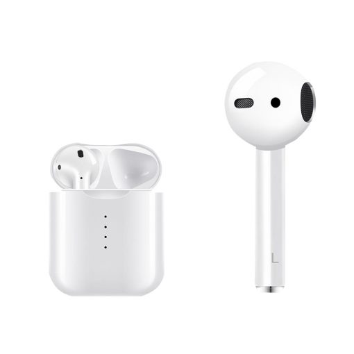 V8 TWS Wireless Bluetooth Earphones Pop up Window Touch Control White 7