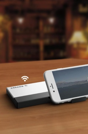 Wireless Pendrive power bank FW A80 1 1