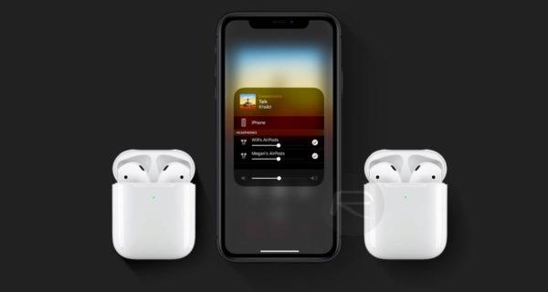 airpods audio sharing main