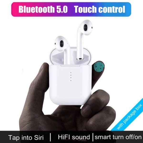 i10 tws Bluetooth Earphones Mini Wireless Bluetooth 5 0 Earbuds Touch control Headphones with charge