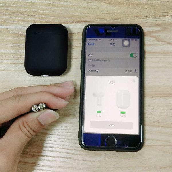 i12 tws Pop Up Bluetooth Earphones Wireless Touch Control Earbuds Headset i12tws not 1 1 replica.jpg q50