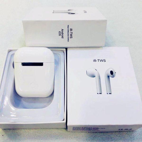 i8 tws mini earbuds wireless bluetooth double