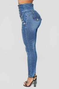stretch slim women denim pants41285180604