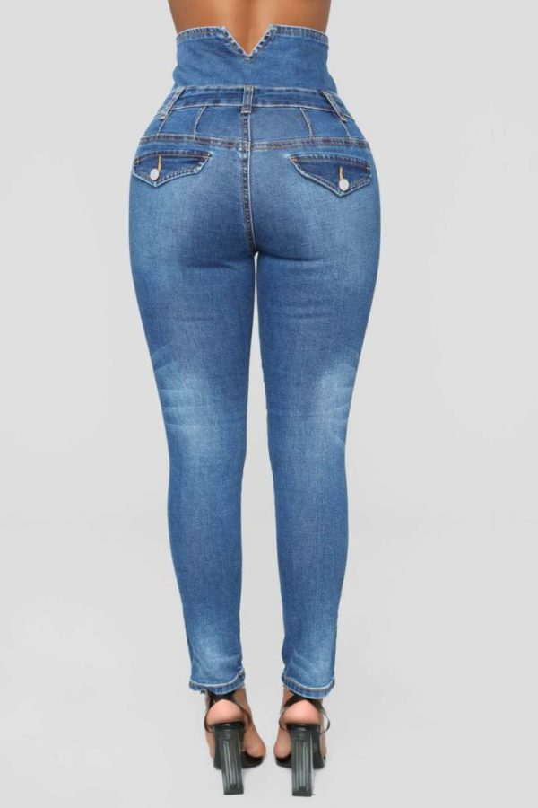 stretch slim women denim pants41286899457