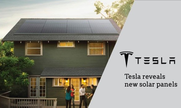 Tesla's new Solar Roof