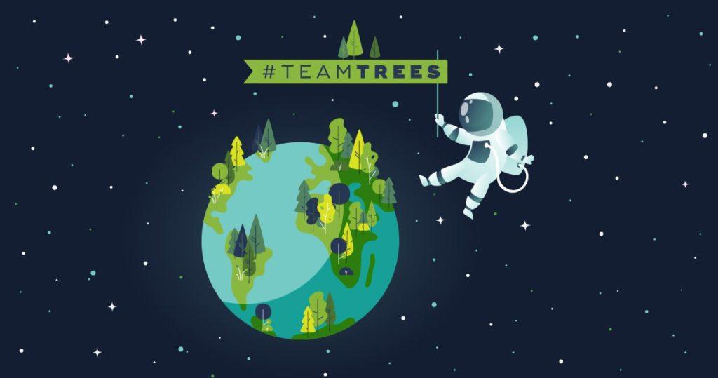 کاشت 20 میلیون درخت