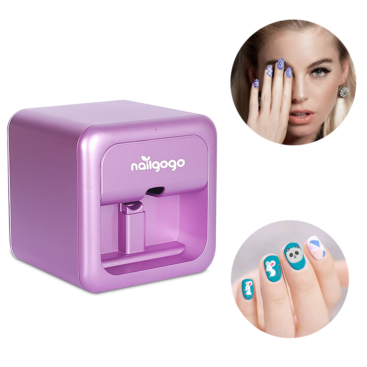 nailgogo f4 nail printers with high quality action and so much more times printing cartrridges