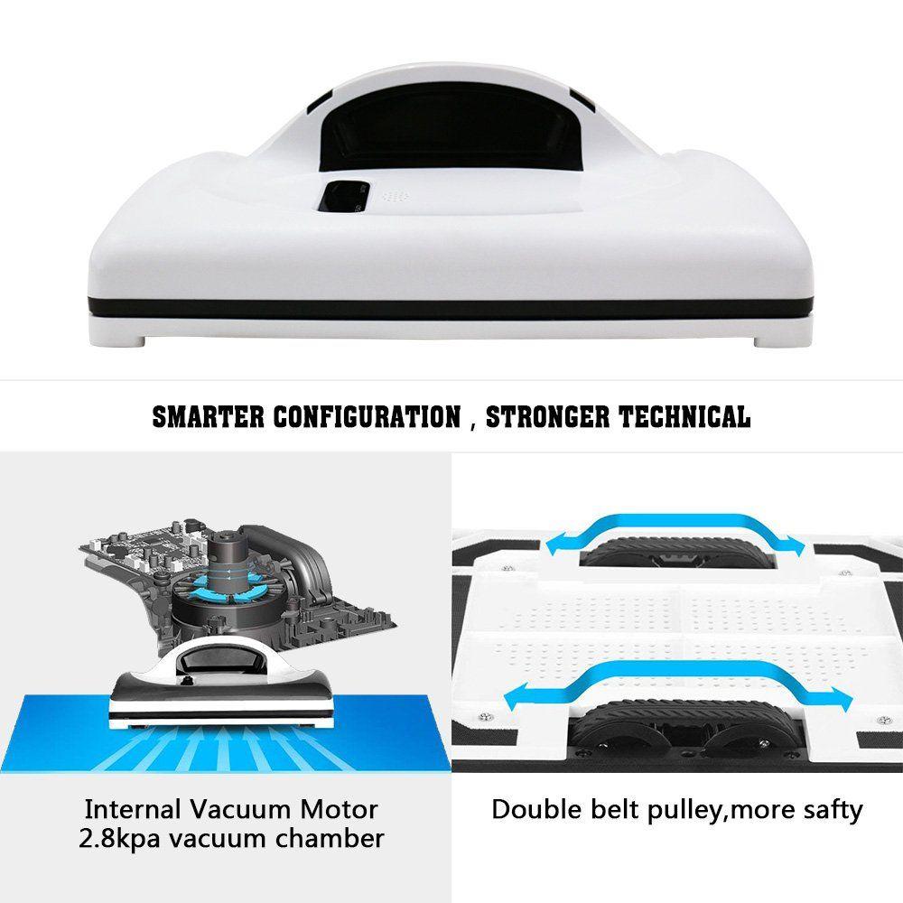 ربات تمیزکاری/ سیستم تمیزکاری هوشمند منحصر و مختص به خودش را دارد./ از طریق ریموت کنترل می شود./ با استفاده ازسیسم UPS از افتادن آن جلوگیری به عمل می آید