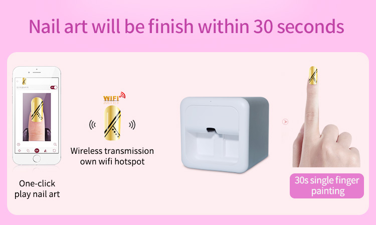 طرز کار دستگاههای پرینتر ناخن با قابلیتهای بالا و حرفه ای