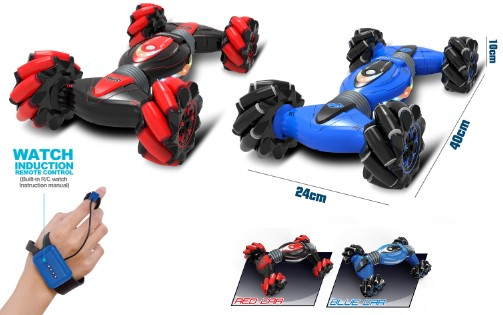 RC car with watch
