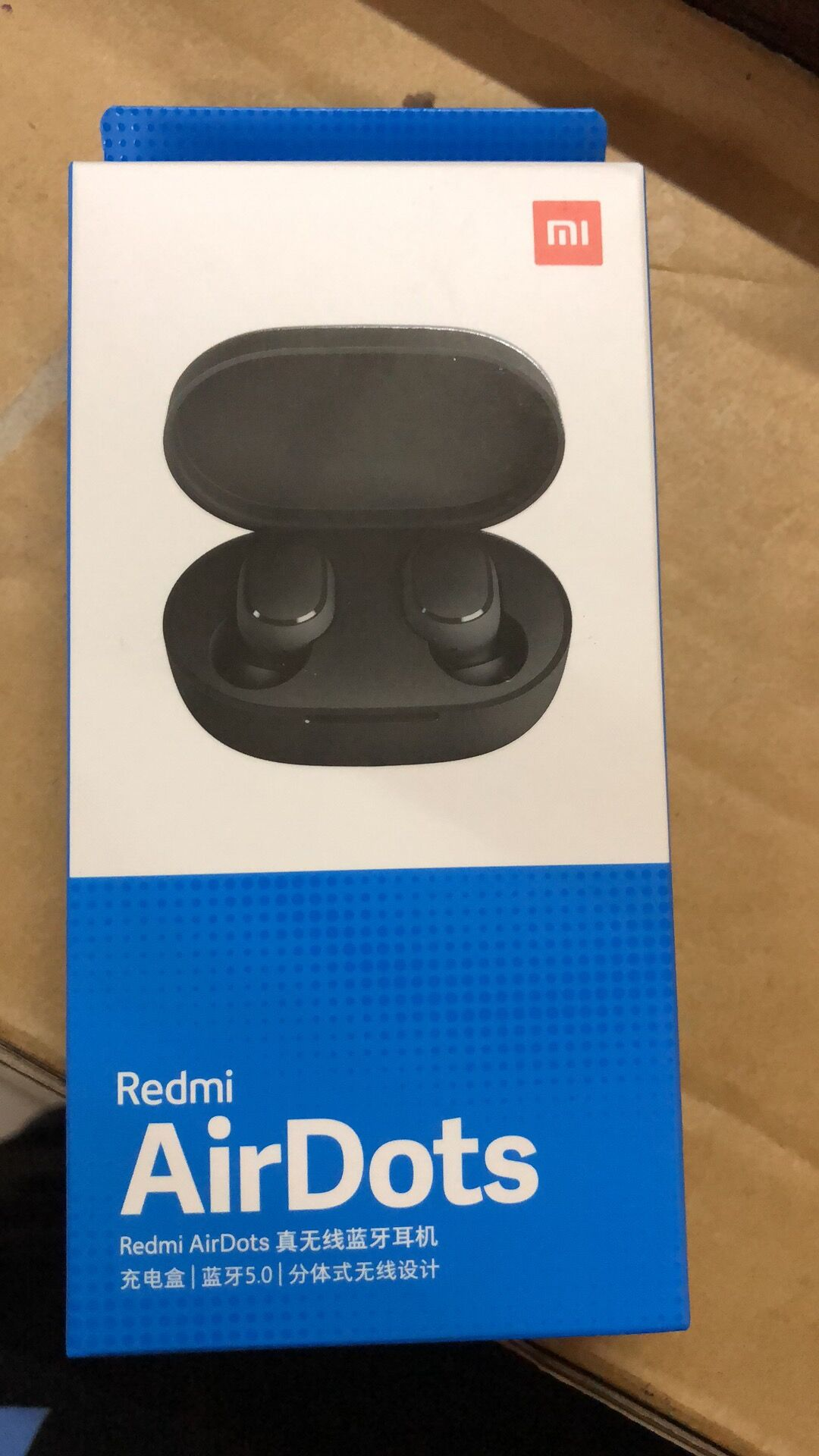 Original Xiaomi Redmi AirDots Wireless Headphones Blue 1 1