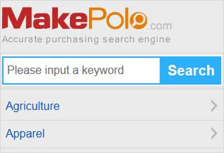 مئیک پولو خود را به عنوان موتور جستجوی دقیق خرید عنوان می کند. ولی عملکرد آن مثل سایر وبسایتهای سورسینگ است.  آنها تعداد زیادی از کالاها و تامین کنندگان را لیست می کنند. بنابراین به نظر می رسد ارزش جستجو دارد. هر چند سرعت وبسایت آنها کمی کند هست.