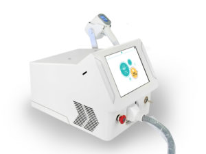 Diode laser portable with handle LCD control system 2