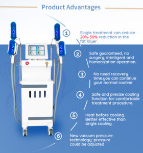 Product Advantages —cryolipolysis