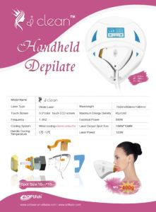 home use handle depilator catalogue 3