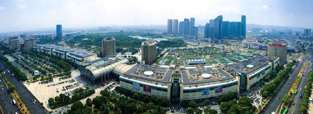 بازار فوتین ایوو بیش از 75000 غرفه تجارت و بیش از 10000000 شرکت بازرگانی دارد