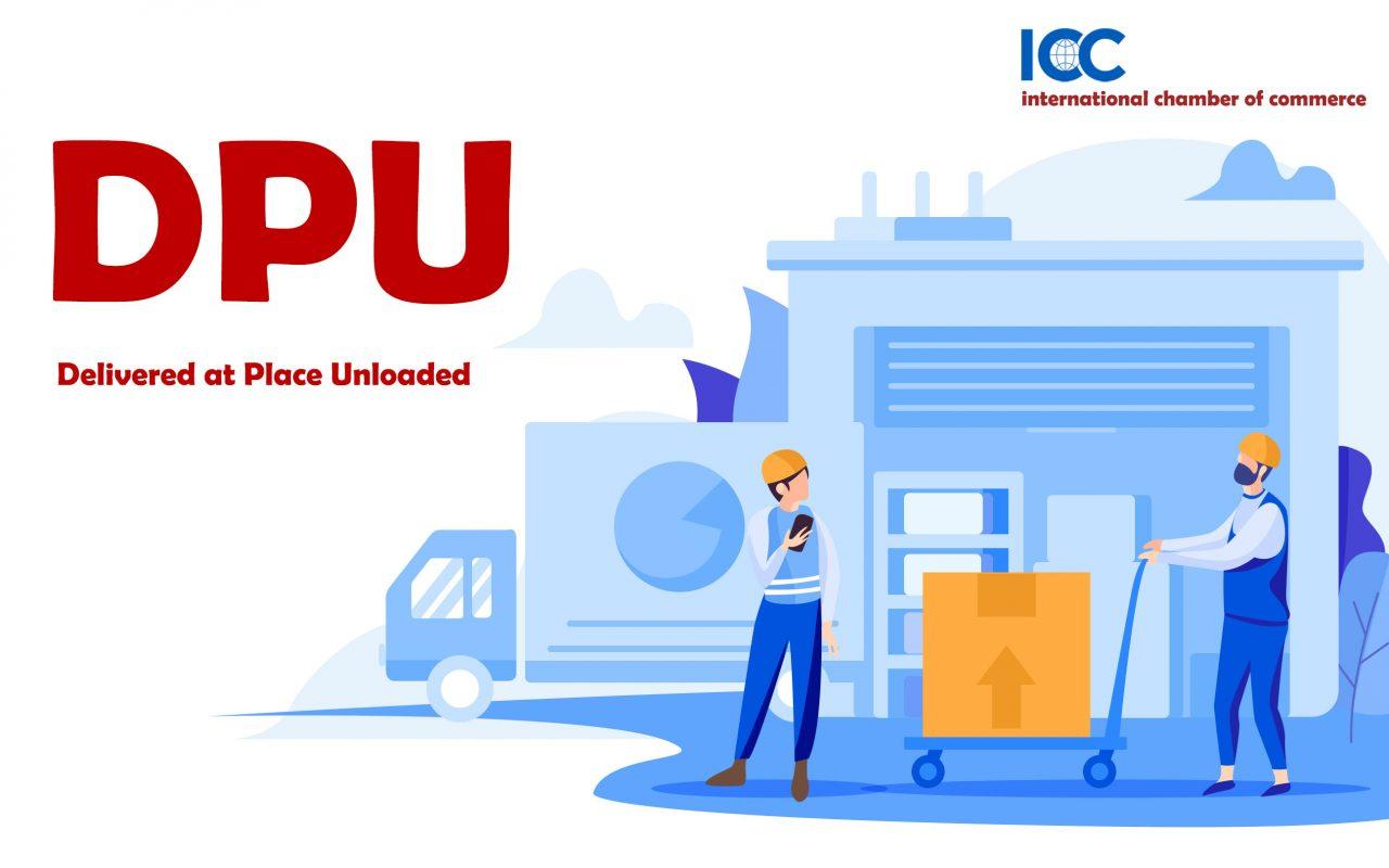 تجارت به روش اینکوترمز DPU  DPU مخفّف اصطلاح Delivered at Place Unloaded هست. این اصطلاح جایگزین اصطلاح DAT موجود در اینکوترمز 2010 است که به معنی تحویل در ترمینال است.  فروشنده مسئول انتقال کالا به مقصد نامبرده است. در این روش فروشنده تمامی مسئولیتهای حمل و نقل تا تحویل کالا در مقصد را بر عهده دارد.  DPU تنها روشی هست که فروشنده حتّی مسئولیت تخلیه کالا در محل مورد توافق با خریدار را نیز بر عهده می گیرد.